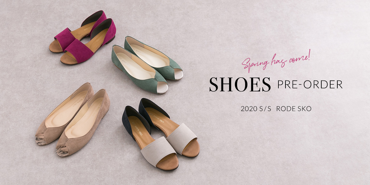 RODE SKO Spring has come! SHOES Pre-Order