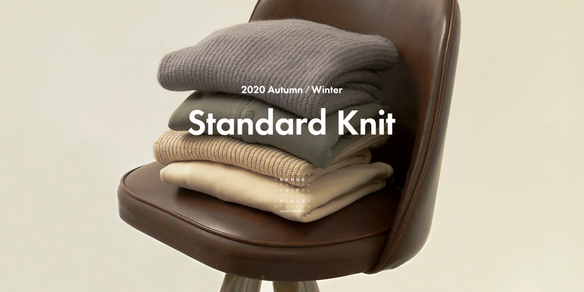 SENSE OF PLACE 2020 Autumn/Winter Standard Knit