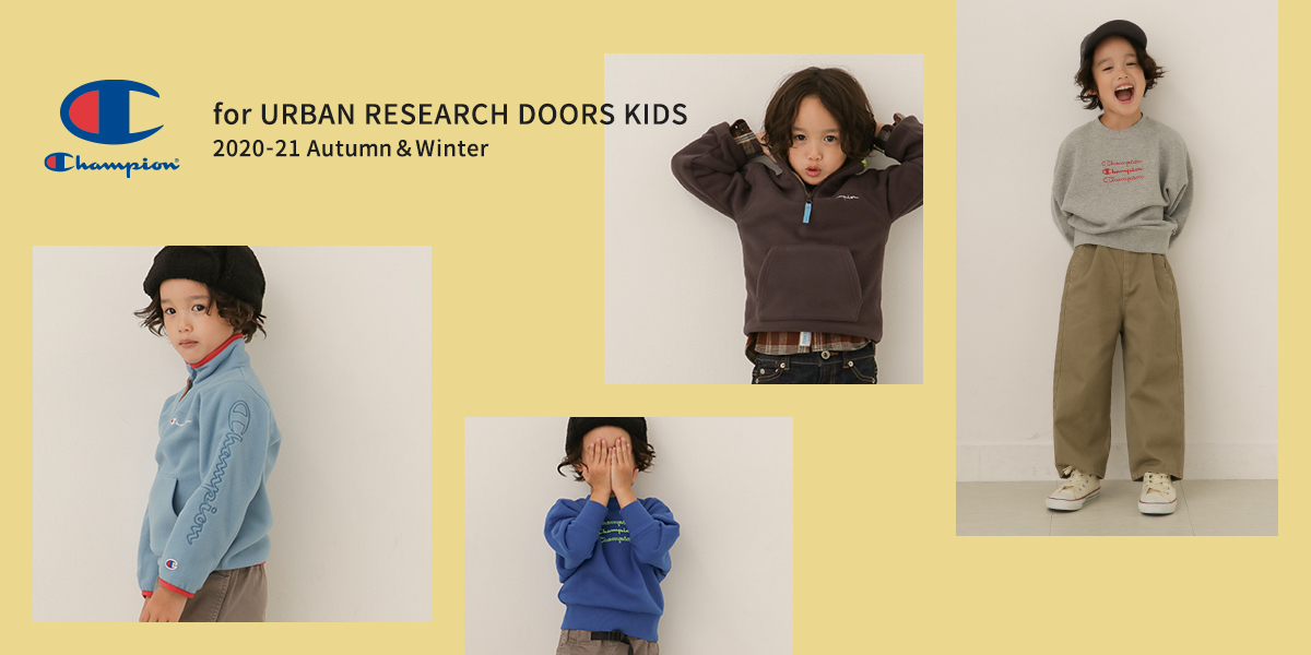 Champion for URBAN RESEARCH DOORS KIDS 2020-21Autumn&Winter