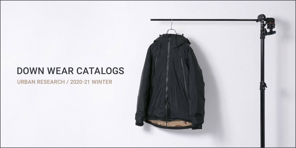 URBAN RESEARCH DOWN WEAR CATALOGS 2020-21 WINTER