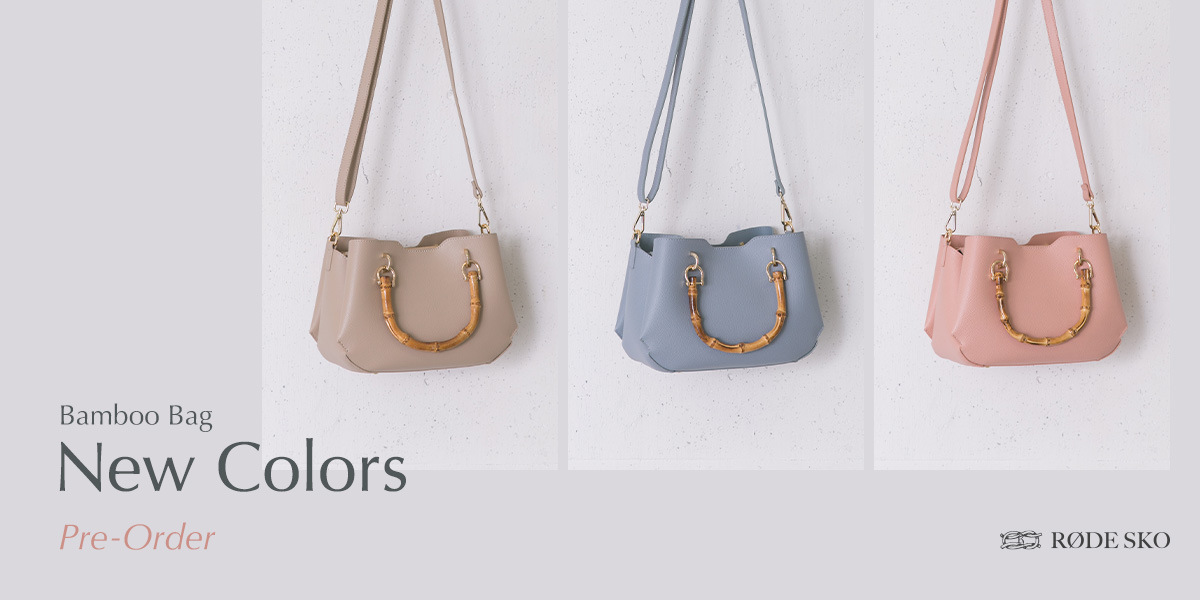 RODESKO Bamboo Bag New Colors