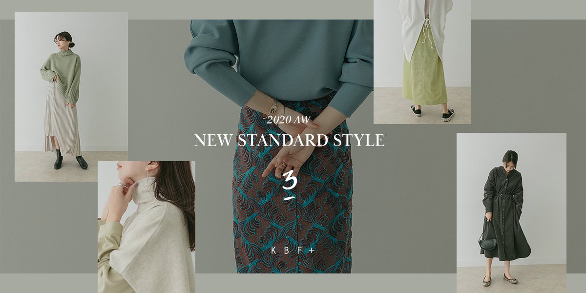 "KBF+ 2020 AW ""NEW STANDARD STYLE"" Vol.3"