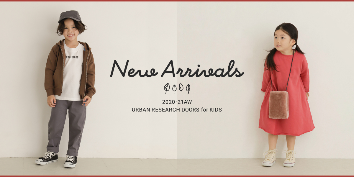 New Arrivals 2020-21AW URBAN RESEARCH DOORS for KIDS