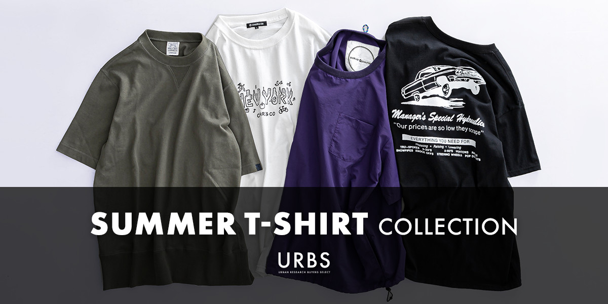 URBS SUMMER T-SHIRT COLLECTION
