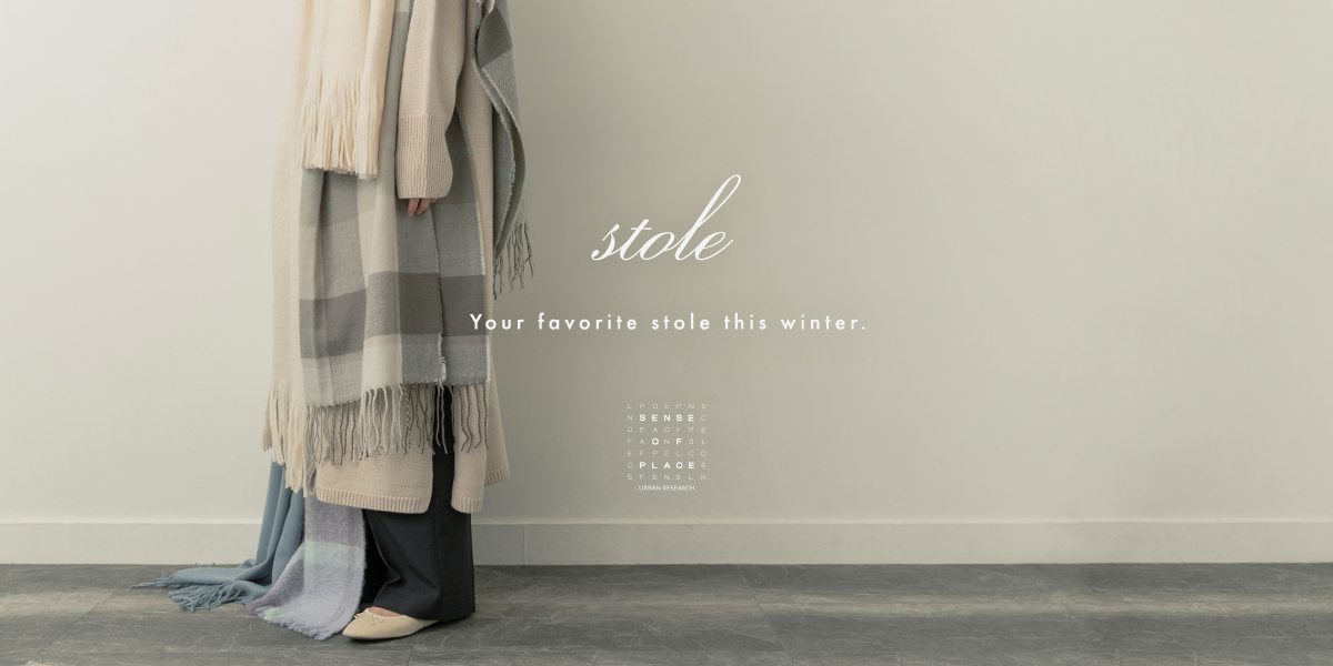 SENSE OF PLACE Your favorite stole this winter