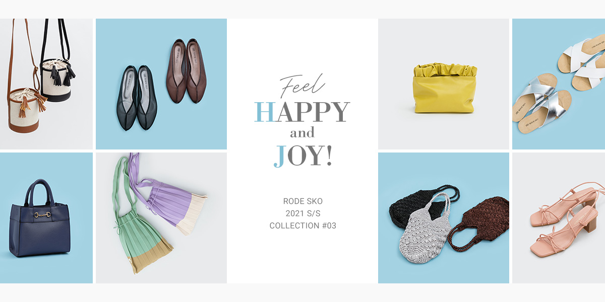 "2021 S/S COLLECTION #03 ""FEEL HAPPY AND JOY!""