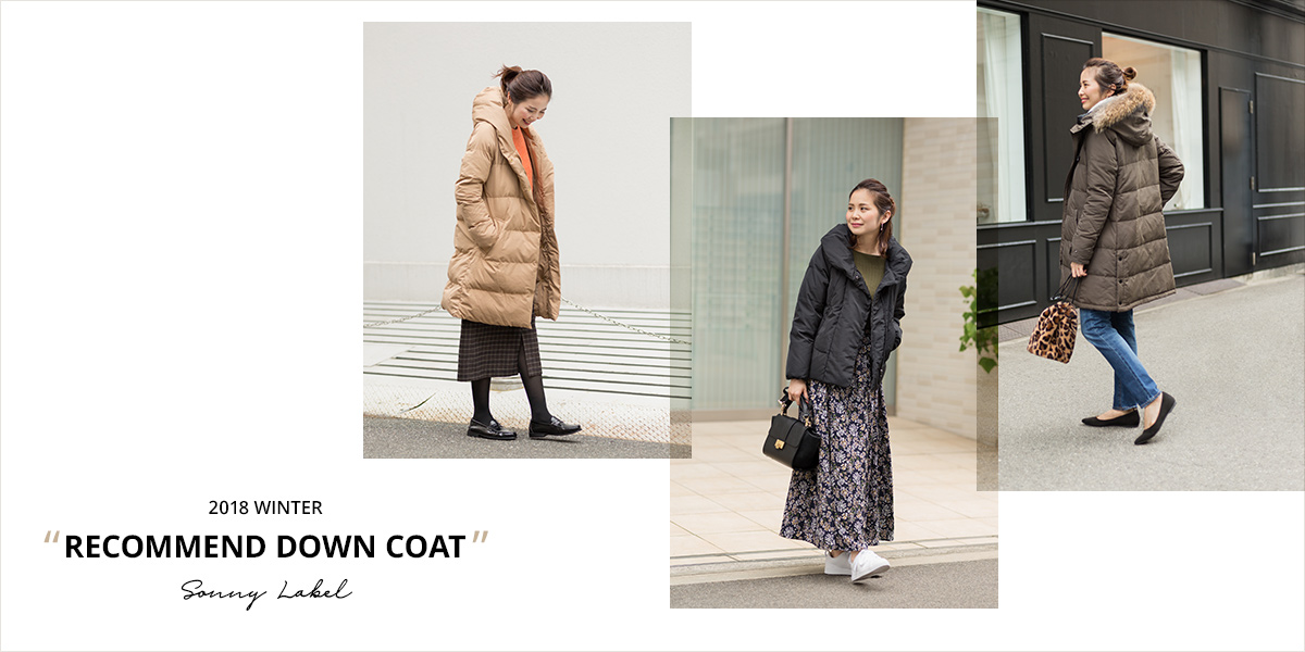 Sonny Label 2018 WINTER RECOMMEND DOWN COAT