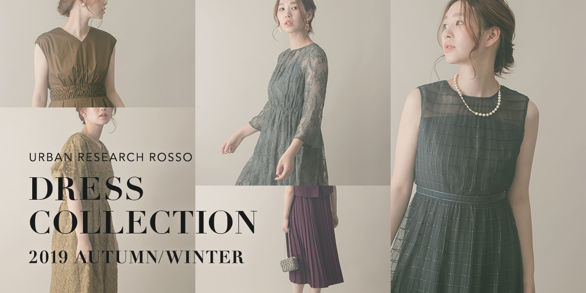 ROSSO DRESS COLLECTION 2019 AUTUMN/WINTER