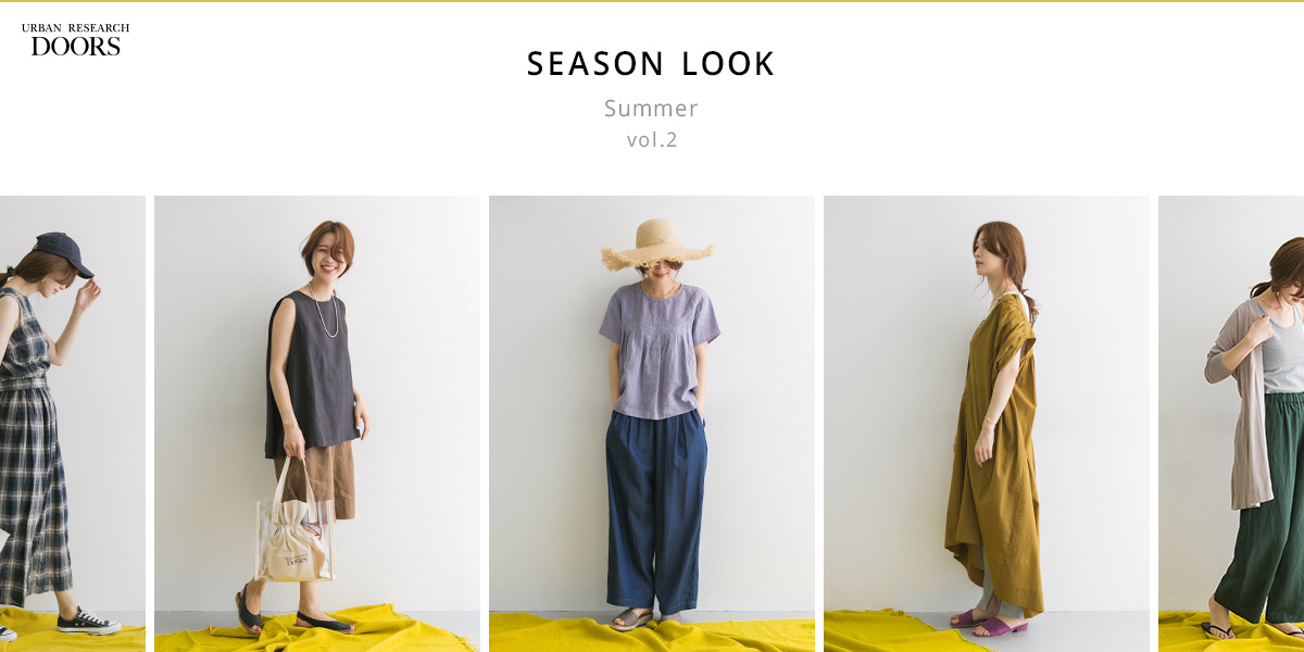 DOORS SEASON LOOK Summer vol.2