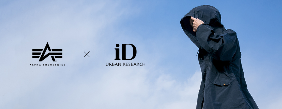 URBAN RESEARCH ALPHA INDUSTRIES × URBAN RESEARCH iD