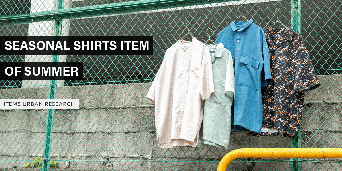 SEASONAL SHIRTS ITEM OF SUMMER|ITEMS