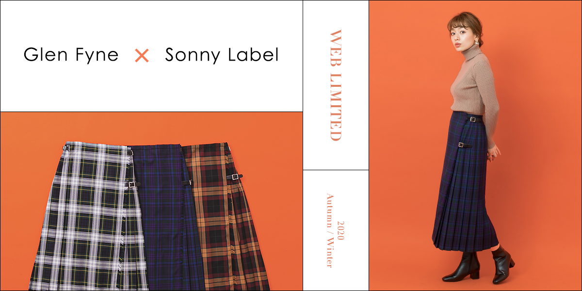 2020 Autumn/Winter WEB LIMITED  Glen Fyne × Sonny Label