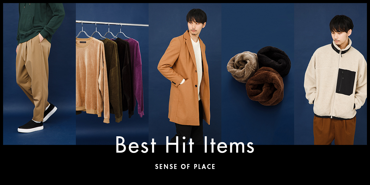 SENSE OF PLACE MEN BEST HIT ITEMS