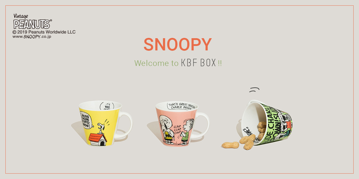 SNOOPY Welcome to KBFBOX !!