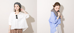 Late summer New arrivals -Loose shirt-
