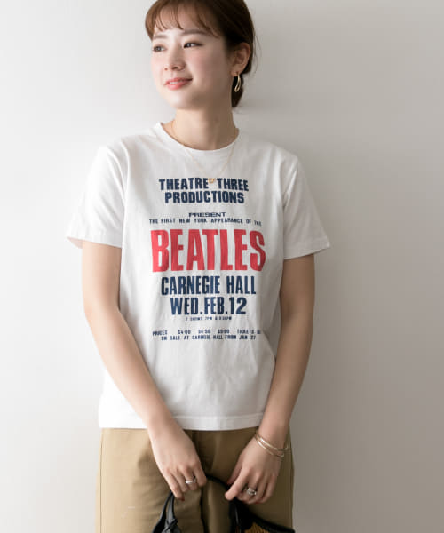 [URBAN RESEARCH][THE BEATLES T-SHIRTS-1]