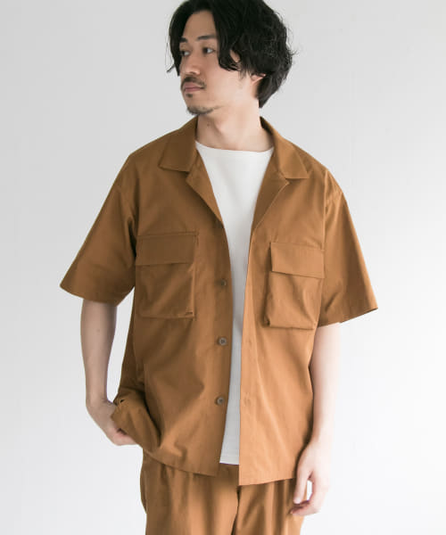 [URBAN RESEARCH][ダイナモス OPEN COLLAR SHIRTS]