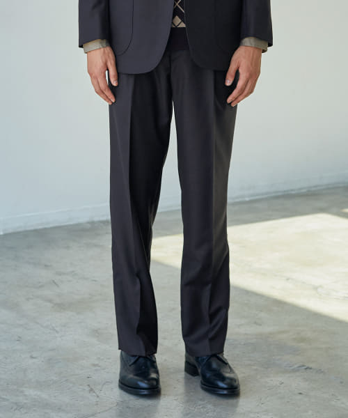 [URBAN RESEARCH][BROOKS BROTHERS×UR MADISON FIT 2PLEATS TROUSERS]