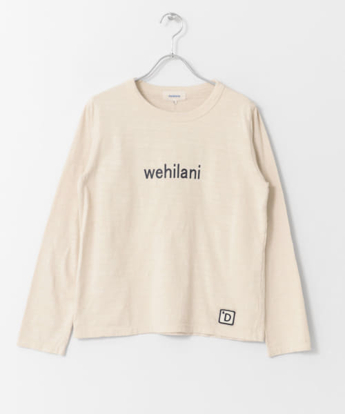 [DOORS][melelana Long-sleeve T-shirts ]