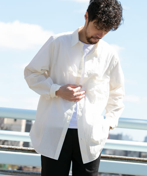 [Sonny Label][TROO ISP DEO WIDE SHIRTS]