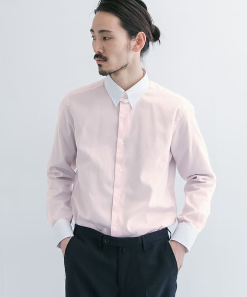[URBAN RESEARCH][URBAN RESEARCH Tailor クレリックタブカラーシャツ]