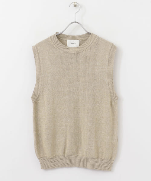 [DOORS][UNIFY L/G Paper Knit Vest]