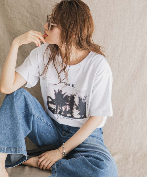 [Sonny Label][MAGIC NUMBER SpecialOrder T-SHIRTS / Palmtree]
