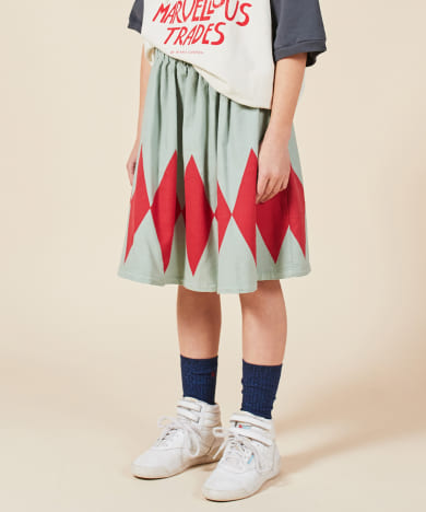 BOBO CHOSES Diamond Woven Skirt