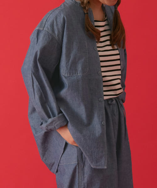 [POP UP SHOP][ordinary fits STAND WORKER SHIRTS]