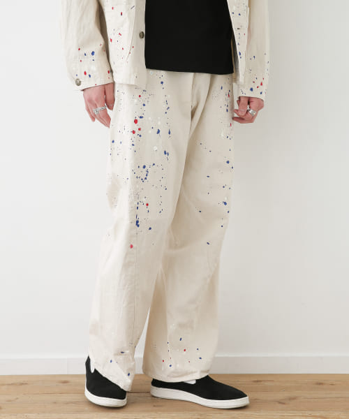 [Sonny Label][CAL O LINE PAINT BARREL PAINTER PANTS]