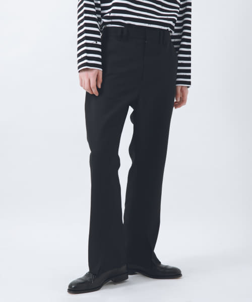 [URBAN RESEARCH][URBAN RESEARCH iD SLIT FLARE PANTS]