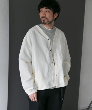 【別注】BURLAP OUTFITTER×DOORS SupplexNylon CARDIGAN