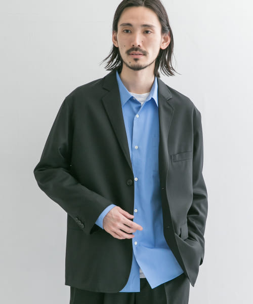 [URBAN RESEARCH][WOOL STRETCH COMFORT JACKET]
