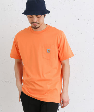 carhartt SHORT-SLEEVE POCKET T-SHIRTS