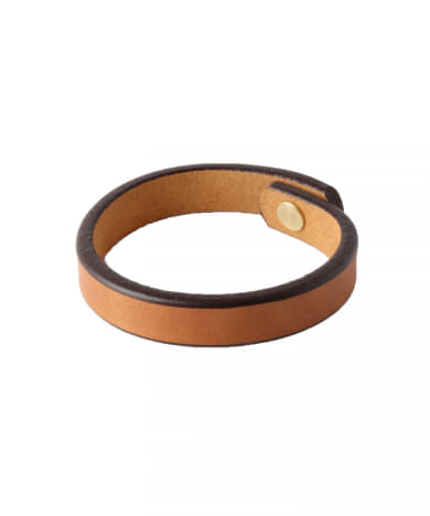 TANNER GOODS SINGLE LEATHER WRISTBAND