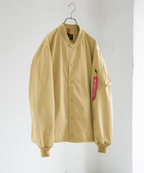 [URBAN RESEARCH][ALPHA INDUSTRIES×URiD 別注MA-1 COACH JACKET]