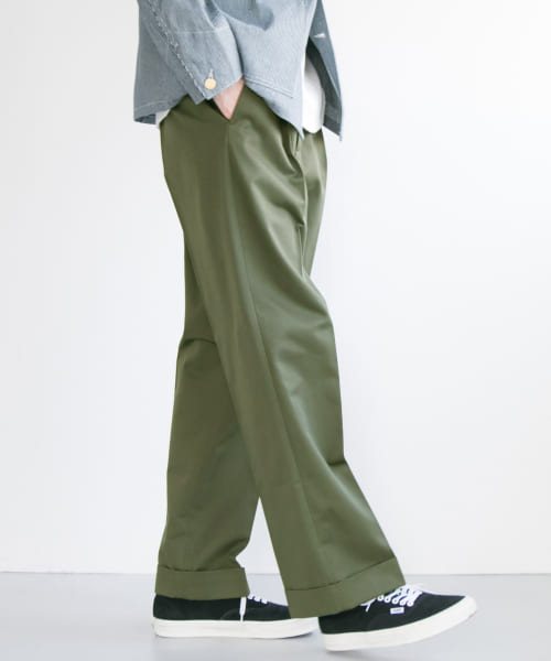 [URBAN RESEARCH][T/C Wide Pants]