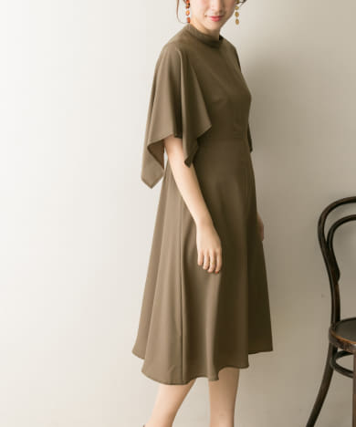COUTURE MAISON 配色ステッチワンピース