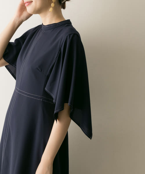 [URBAN RESEARCH][COUTURE MAISON 配色ステッチワンピース]