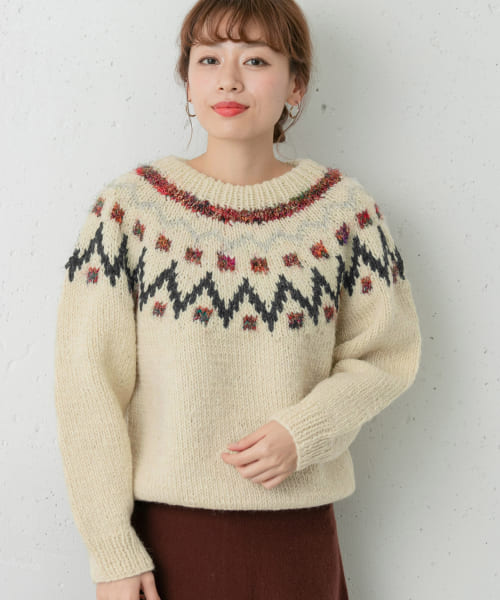 [Sonny Label][STANLEY 別注CABLE SWEATER]