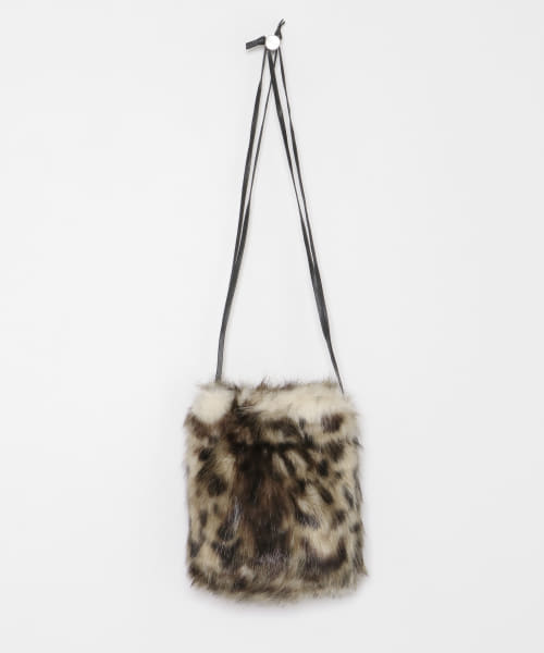 [ROSSO][helen moore DRAWSTRING POUCH BAG]