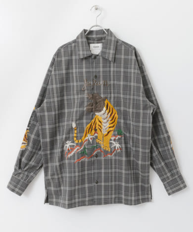 doublet BITING EMBROIDERY SHIRTS