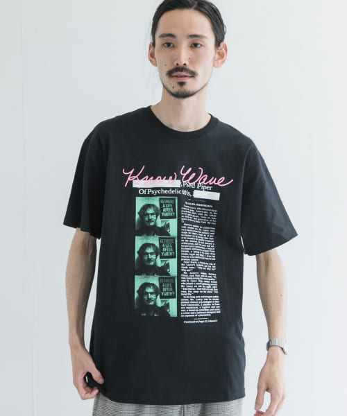 [URBAN RESEARCH][KNOWWAVE PIED PIPER T-SHIRTS]