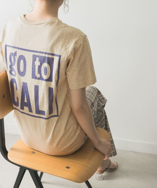 [URBAN RESEARCH][【別注】Mixta×URBAN RESEARCH go to CALI T-SHIRTS]