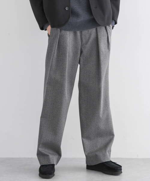 [URBAN RESEARCH][ULTERIOR COVERT CLOTH WIDE TROUSER]