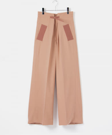 malamute tone gatherd trousers