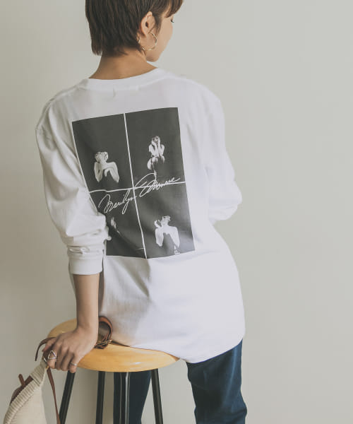 [URBAN RESEARCH][MARILYN LONG-SLEEVE T-SHIRTS]