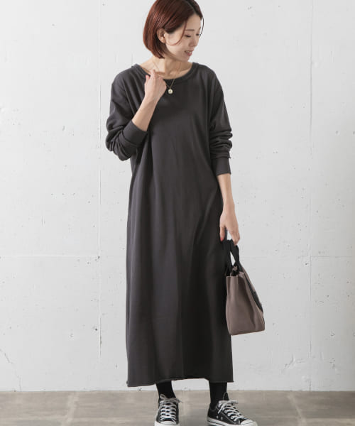 [Sonny Label][SLAB Sweat Relax OnePiece]