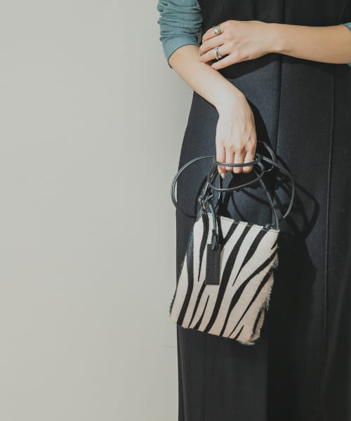 [URBAN RESEARCH][MARCO MASI ZEBRA MINI 2WAY BAG]