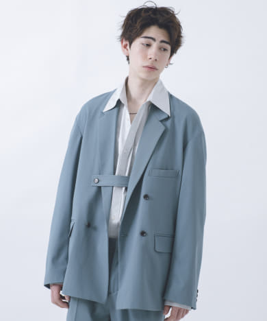 URBAN RESEARCH iD OVERSIZE DOUBLE JACKET